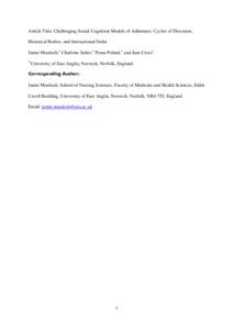 Social interaction model pdf