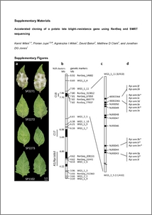 Accelerated Cloning Of A Potato Late Blight Resistance Gene Using