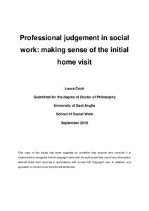 Dissertation in social work