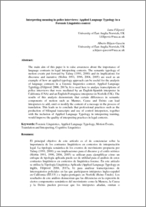 Interpreting Meaning In Police Interviews Applied Language Typology In A Forensic Linguistics Context Uea Digital Repository