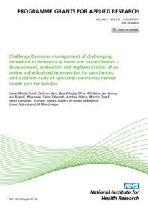 Challenge Demcare Management Of Challenging Behaviour In
